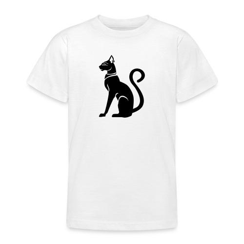 Bastet - Katzengöttin im alten Ägypten - Teenager T-Shirt