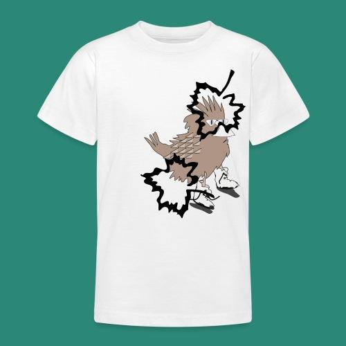 Ein Spatz - Teenager T-Shirt