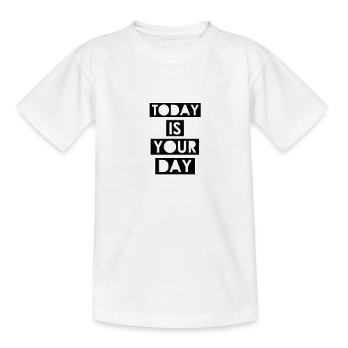 Official Design Kompas Today is your day - Teenager T-shirt