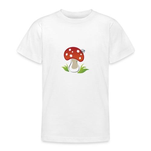 Mushroom - Symbols of Happiness - Teenage T-Shirt