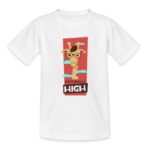 naturally high - Teenager T-Shirt