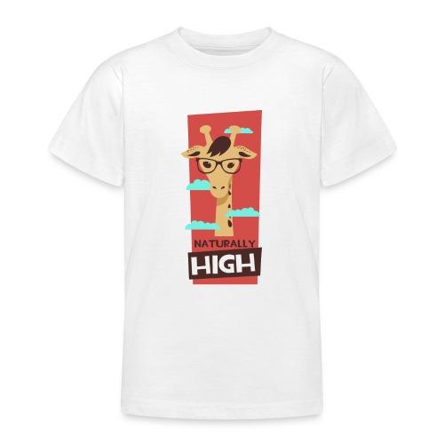 naturally high - Teenager T-Shirt