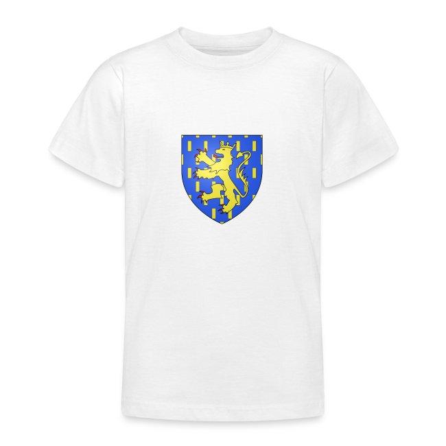 Blason de la Franche-Comté avec fond transparent