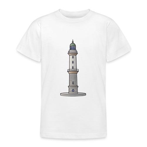 Leuchtturm Warnemünde Rostock c - Teenager T-Shirt