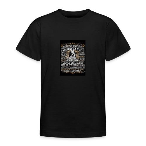 Johnny hallyday diamant peinture Superstar chanteu - T-shirt Ado