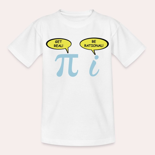 Sé realista Sé racional - Camiseta adolescente