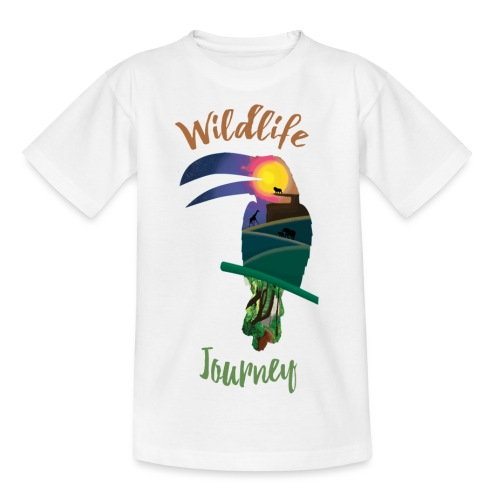 Wildlife Journey - Teenager T-Shirt
