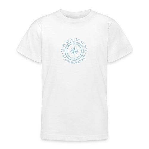 St. Goarshausen – Kompass - Teenager T-Shirt