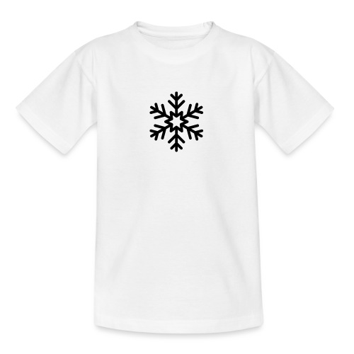 snowflake144_-1--png - Camiseta adolescente