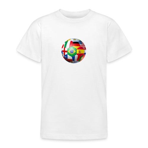 Brasil Bola - Teenage T-Shirt