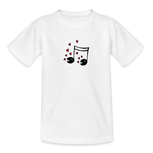 Love tunes - Teenager T-Shirt