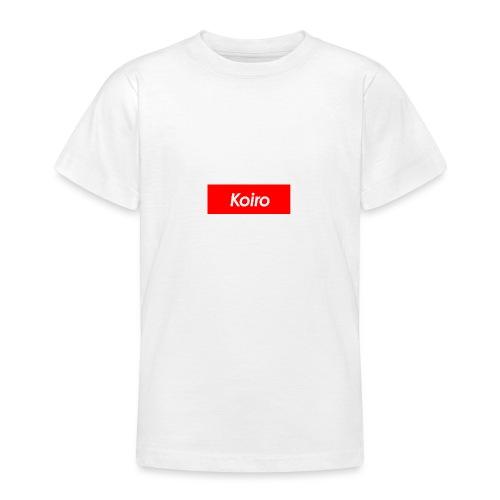 Koiro - Punainen - Nuorten t-paita