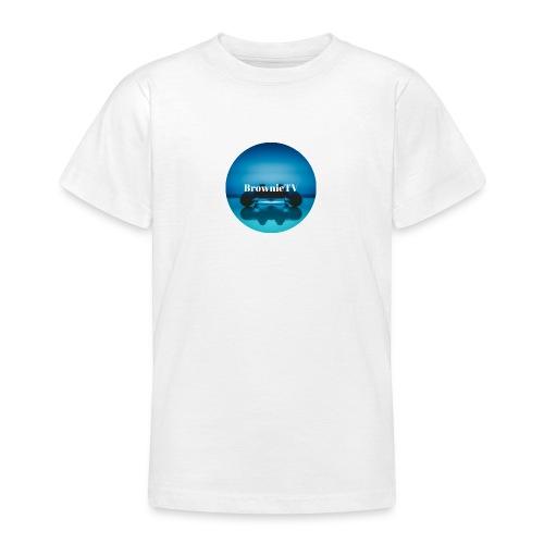 Brownie TV Design - Teenager T-Shirt