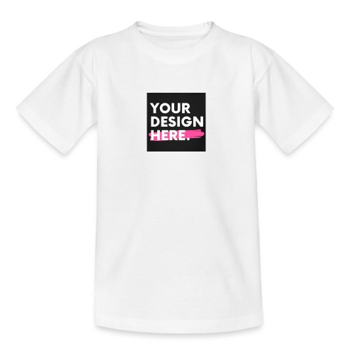 Custom-made - T-shirt tonåring