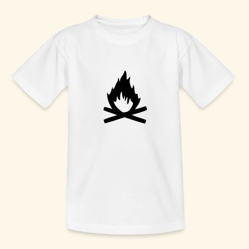 Lagerfeuer - Teenager T-Shirt