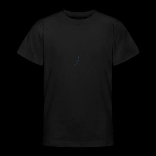 logo Style bleu - T-shirt Ado