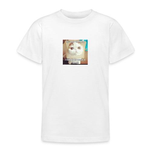 grappige kat - Teenager T-shirt