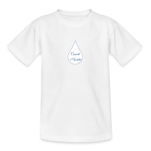 Concert 4 Water's Image Logo - Teenage T-Shirt