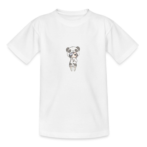 Cute girl panda - Teenage T-Shirt