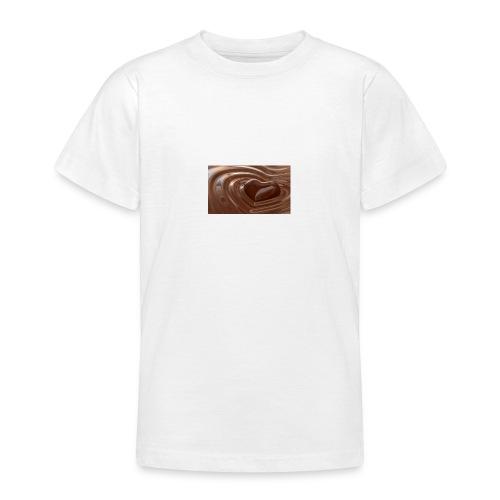 Choklad T-shirt - T-shirt tonåring