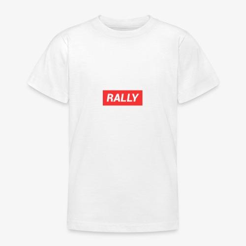Rally classic red - T-shirt tonåring