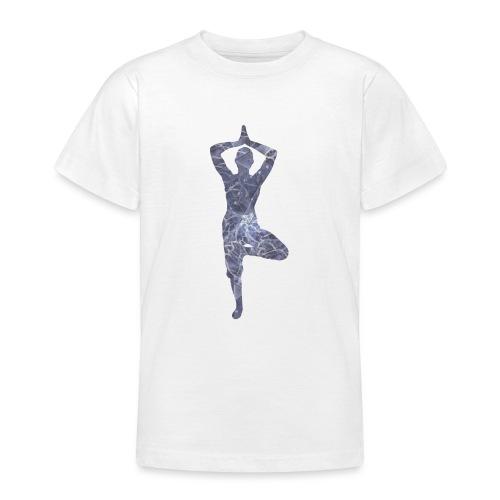 Yoga Baum Asana - Teenager T-Shirt