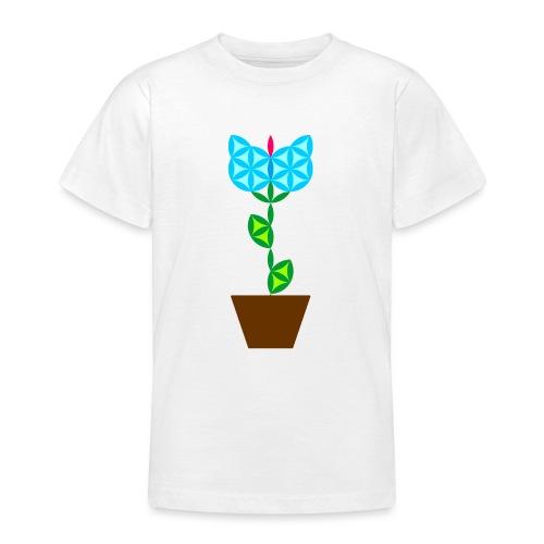 The Flower Of Life - Sacred Plants. - Teenage T-Shirt