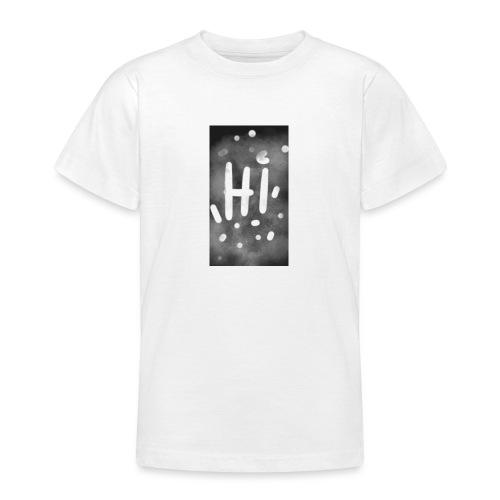 Hola o hi nublado - Camiseta adolescente