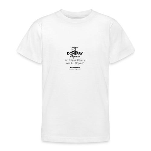 Go Beyond Elegance Image T Shirt design - Teenage T-Shirt