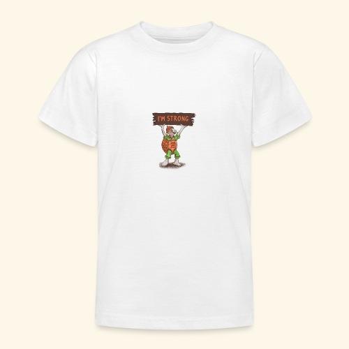 Turtle - Ich bin stark. - Teenager T-Shirt