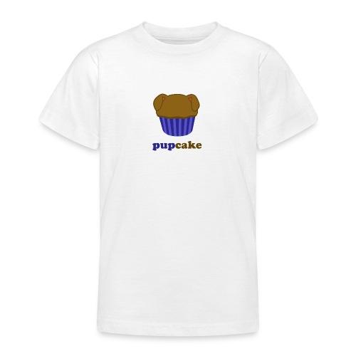 pupcake blauw - Teenager T-shirt