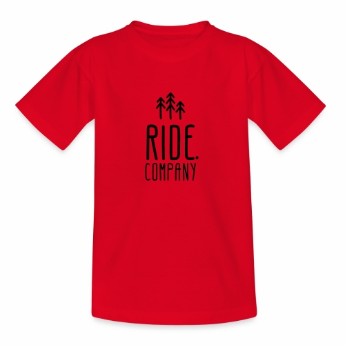 RIDE.company Logo - Teenager T-Shirt