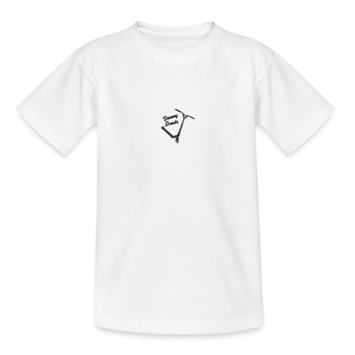Danny Scootz logo - Teenage T-Shirt