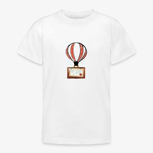 CUORE VIAGGIATORE Gadget per chi ama viaggiare - Maglietta per ragazzi