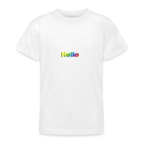 Hello - Koszulka młodzieżowa