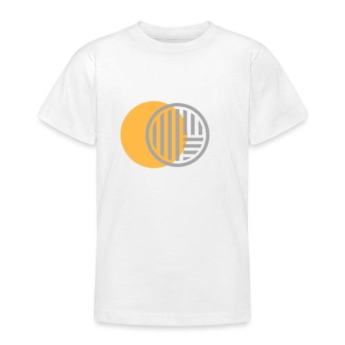 Jaune et Gris - T-shirt Ado
