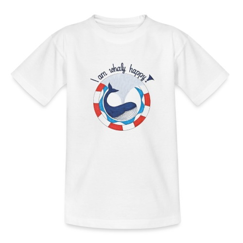 I am whaly happy! - Teenager T-Shirt