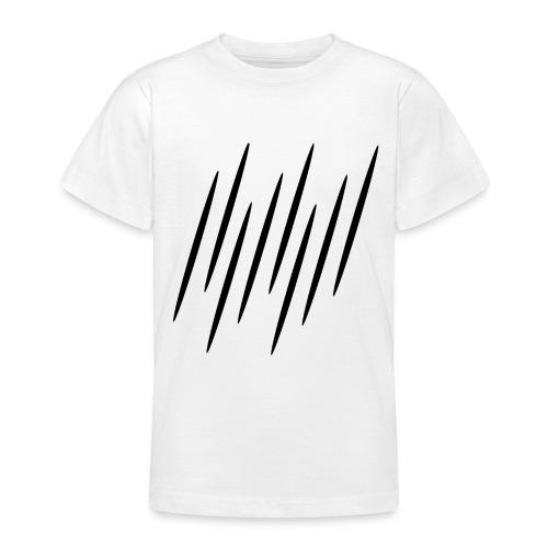 Kleine Schwarze Streifen - Teenager T-Shirt