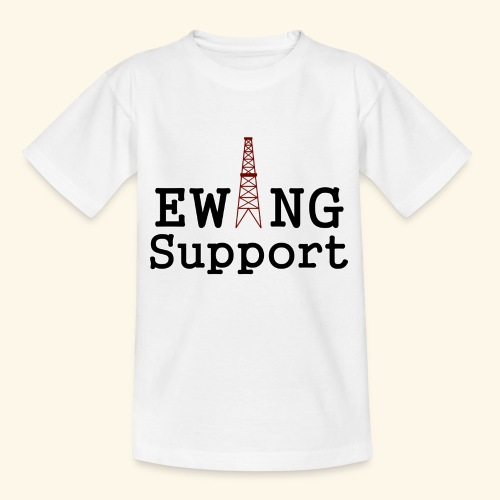 Ewing Support - Teenage T-Shirt