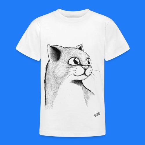 CAT HEAD by AGILL - T-shirt Ado