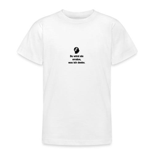 Der Denker - Teenager T-Shirt