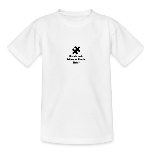 Puzzle Stein - Teenager T-Shirt