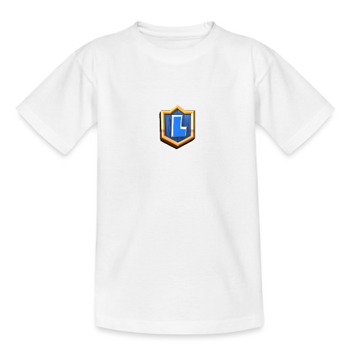 LuFresh Logo Blau - Teenager T-Shirt