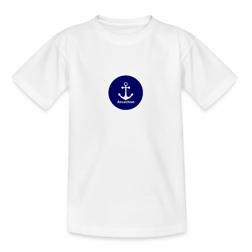 Arcachon Ancre blanc - Teenage T-Shirt