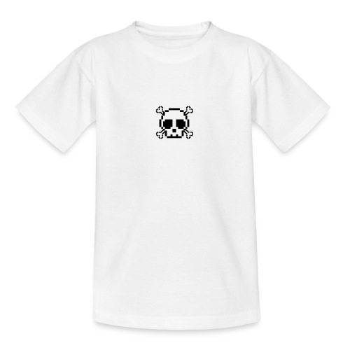 Scripted. Skull - Teenage T-Shirt