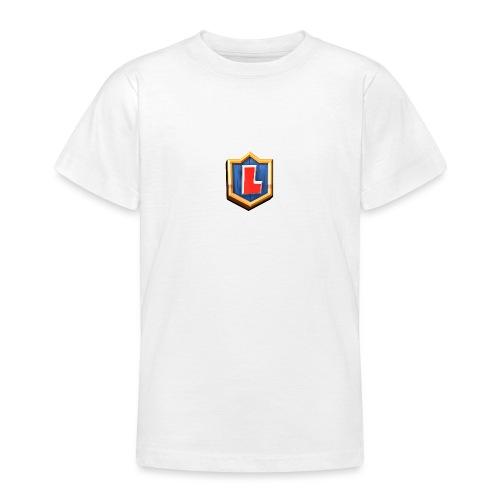 LuFresh Logo Rot - Teenager T-Shirt