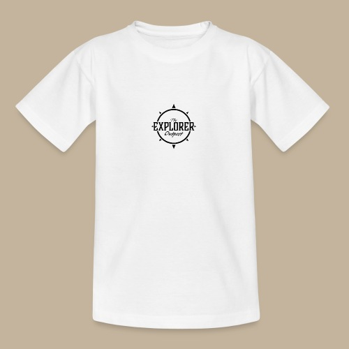 Black TEO Logo - Teenage T-Shirt