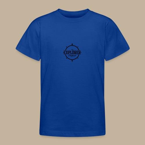 Black TEO Logo - Teenage T-Shirt