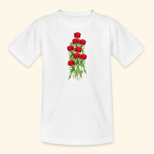 rote rosen - Teenager T-Shirt