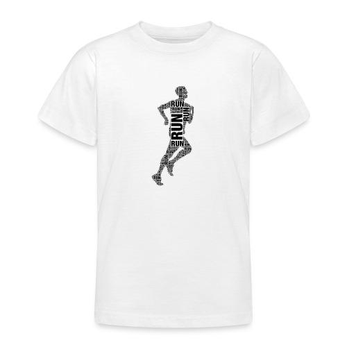 runner running - Teenage T-Shirt